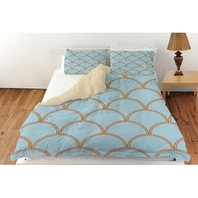 Art Deco Circles Duvet Cover Collection