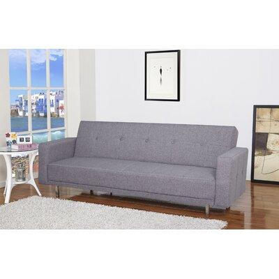 Armas Sleeper Sofa Upholstery: Ash