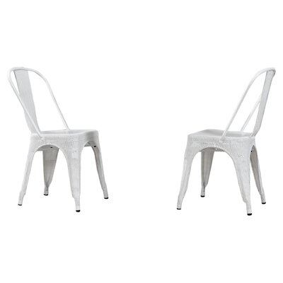 Uriarte Side Chair Finish: White
