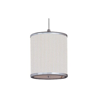 Denning 1-Light Drum Pendant Size: 7 H x 6.75 W x 6.75 D
