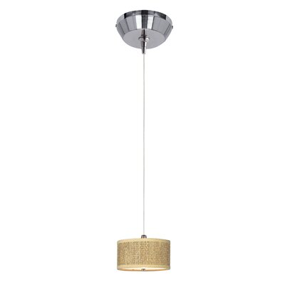Denning 1-Light Drum Shade Mini Pendant