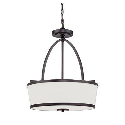 Camacho Modern 3-Light Drum Pendant