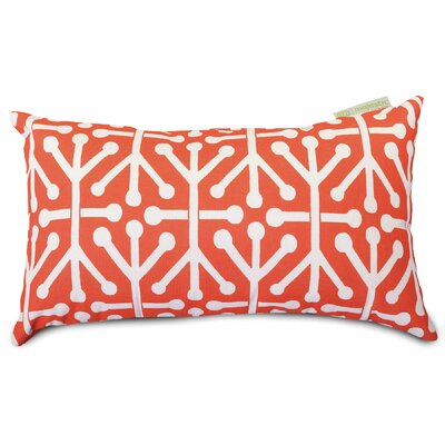 Nerys Indoor/Outdoor Lumbar Pillow Fabric: Orange