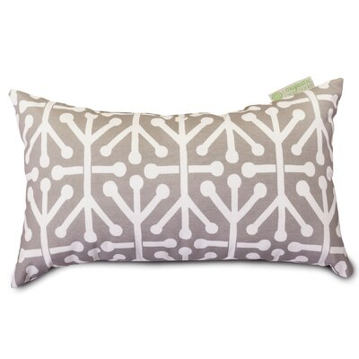 Nerys Indoor/Outdoor Lumbar Pillow Fabric: Gray