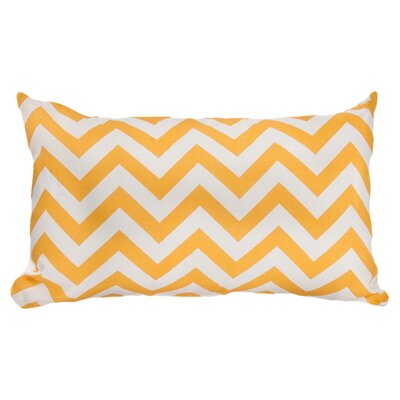 Arcadios Outdoor Lumbar Throw Pillow Color: Yellow