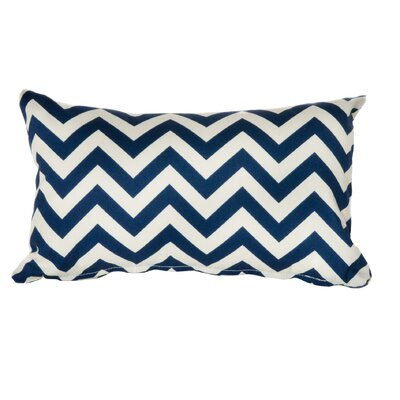 Timaeus Outdoor Lumbar Pillow Color: Navy