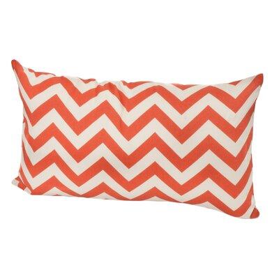Timaeus Outdoor Lumbar Pillow Color: Orange