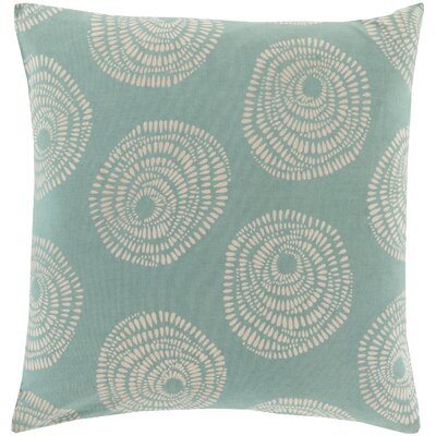 Maryanne 100% Cotton Throw Pillow Size: 18 H x 18 W x 4 D, Color: Wasabi