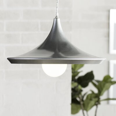 Capella 1-Light Inverted Pendant Finish: Silver