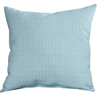 Woodland Throw Pillow Color: Omar/Bahama, Size: 18 H x 18 W