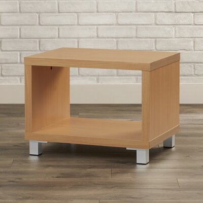 Cuevas Contemporary End Table Color: Light Cherry