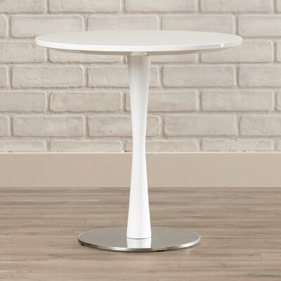 Erastos End Table Color: High Gloss White