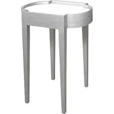 Strattanville Chairside Table Finish: Silver