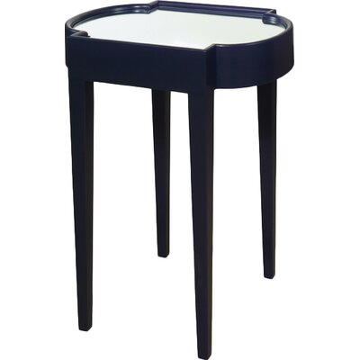 Chairside Table Finish: Blue