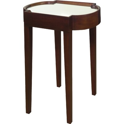 Strattanville Chairside Table Color: Chocolate