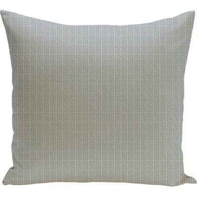 Woodland Throw Pillow Size: 16 H x 16 W, Color: Classic Gray/Omar