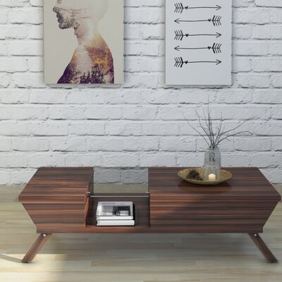 Soto Coffee Table Color: Walnut