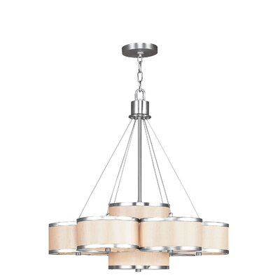 Bisbee 7-Light Drum Chandelier