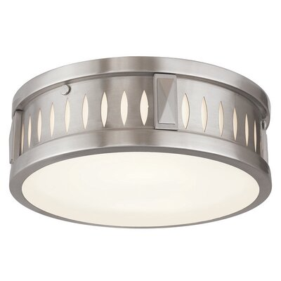 Brayden Studio Kuhlman 2-Light Flush Mount