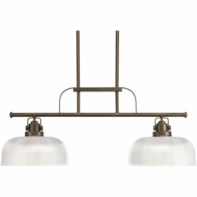 Gotha 2-Light Kitchen Island Pendant Color: Venetian Bronze
