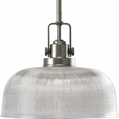 Gotha 1-Light Pendant Finish: Antique Nickel