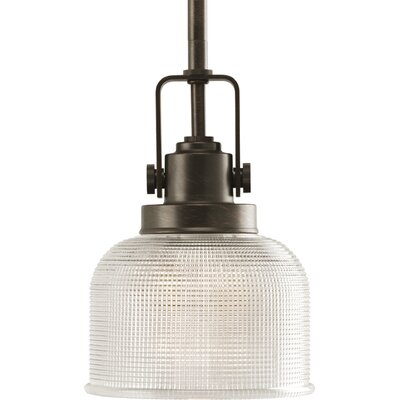 Gotha 1-Light Mini Pendant Finish: Venetian Bronze