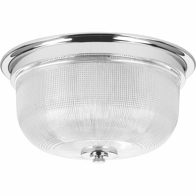 Gotha 2-Light Semi Flush Mount Color: Chrome