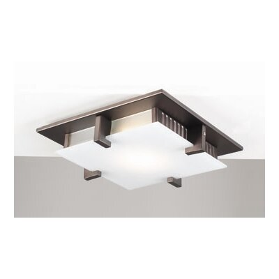 Altha Semi Flush Mount Finish / Size / Bulb Type: Oil Rubbed Bronze / 9.5 / J78mm
