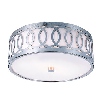 Homedale Flush Mount Size: 4.5 H x 10 W x 10 D