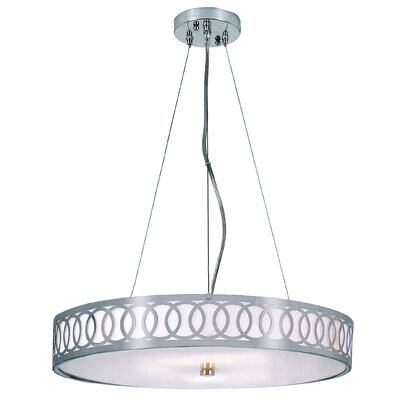 Sandpoint 6-Light Drum Pendant