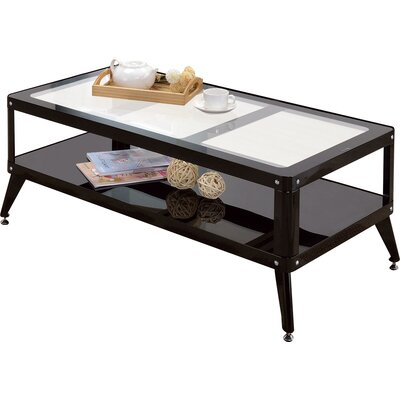 Timycha Coffee Table Color: Black
