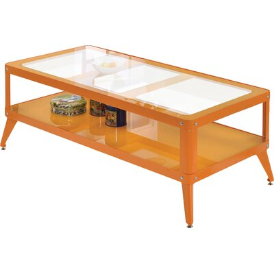 Timycha Coffee Table Finish: Orange