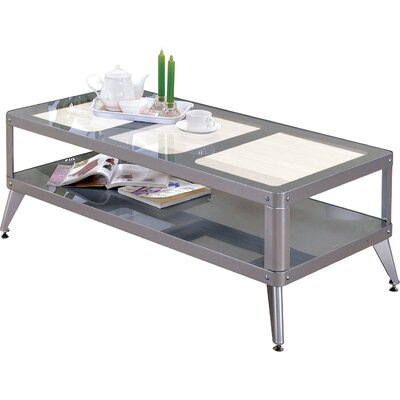 Timycha Coffee Table Color: Silver
