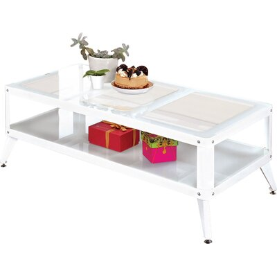 Timycha Coffee Table Finish: White