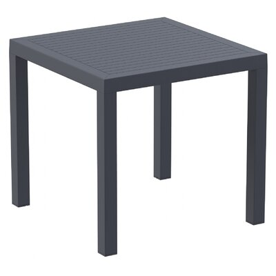 Melissus Dining Table Finish: Dark Gray