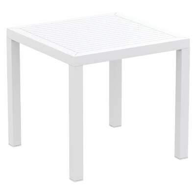 Melissus Dining Table Finish: White