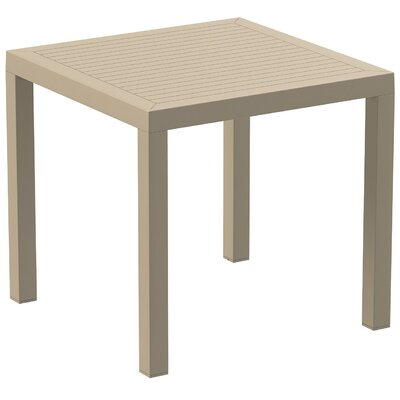 Melissus Dining Table Color: Dove Gray
