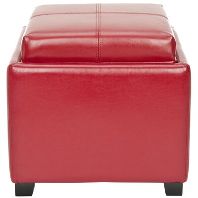 Carter Ottoman Color: Red