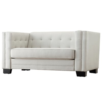 Mercury Row MCRR5674 27984230 Vidette Tufted Upholstered Loveseat