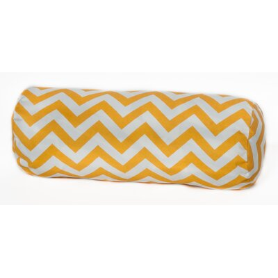 Nehemiah Outdoor Bolster Pillow Color: Yellow