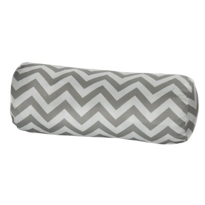 Nehemiah Outdoor Bolster Pillow Color: Grey