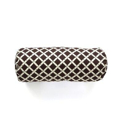 Arellano Outdoor Bolster Pillow Color: Brown