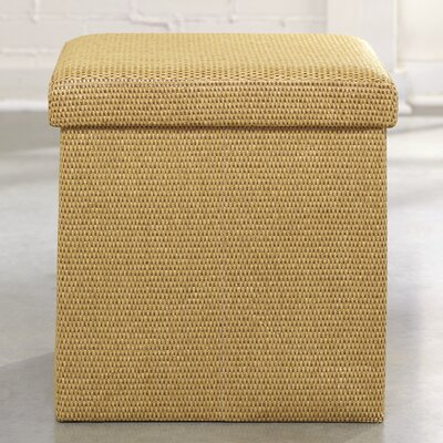 Hinkley Storage Ottoman Color: Sisal Basket Weave