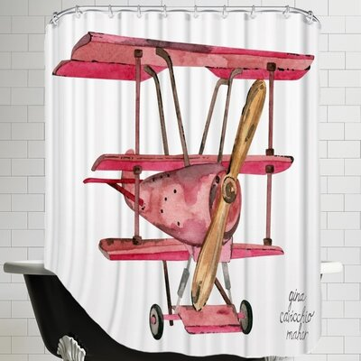 Gina Maher Heraclius Shower Curtain