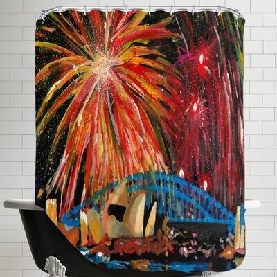 Silvester Shower Curtain
