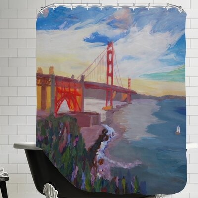 Goldengate 3 Shower Curtain