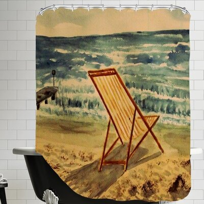 Liegestuhl Shower Curtain