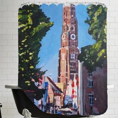 Landshut Munchner Tor 1 Shower Curtain