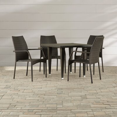 Sibylla 5 Piece Outdoor Dining Set