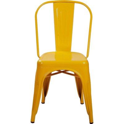 Alandra Side Chair Finish: Yellow